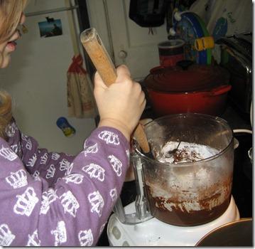 Wynn stirring